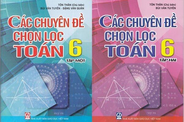 Tải ebook Các chuyên đề chọn lọc toán 6 - tập 1, tập 2